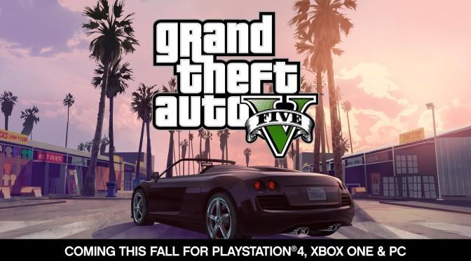 GTA 5 – Ankündigungs Trailer für PC, XBone + PS4