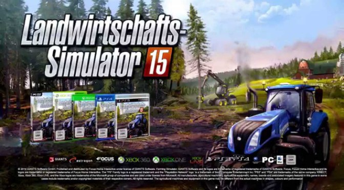 Landwirtschafts-Simulator 15 Gamescom Trailer