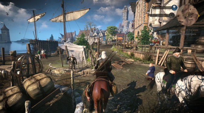 The Witcher 3: Wild Hunt Gameplay Demo