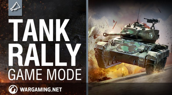 World of Tanks Special Event: Тank Rally Mode