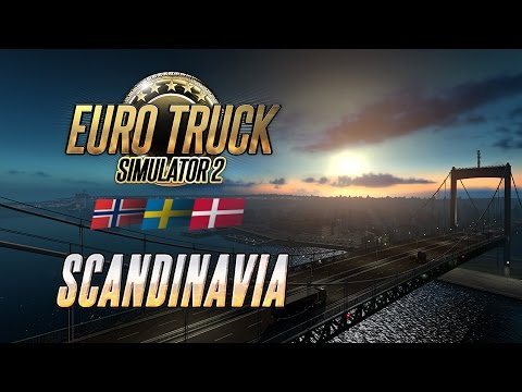 Euro Truck Simulator 2 – Scandinavia trailer