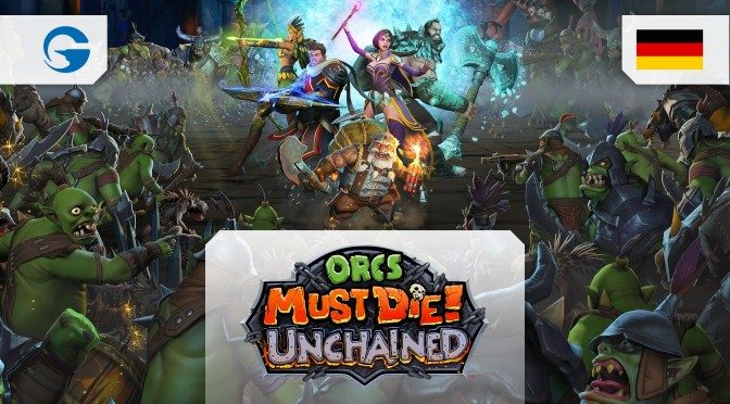Orcs Must Die! Unchained Open Beta Trailer