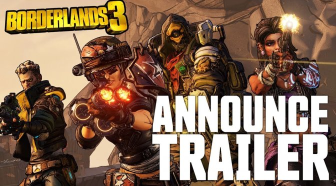 Borderlands 3 Announce Trailer